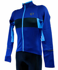 Pearl Izumi ELITE Thermal LS Cycling Jersey, Black/Blue, Men's Large