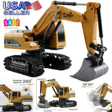 Remote Control Heavy Equipment Toy Car RC Excavator Construction Tractor Vehicle
