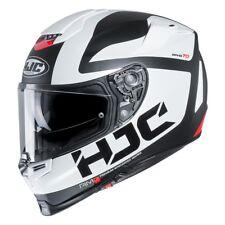 Casco Helm Casque Helmet HJC RPHA 70 BALIUS MC10SF BIANCO NERO 2019 taglia XXL