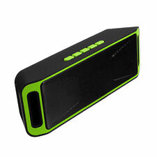 SC208 4.0 Bluetooth  WirelessSpeaker Stereo Subwoofer Support FM TF USB Green