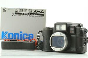 【Almost Unused in Box】Konica GenbaKantoku ZOOM 28-56 Duty Film Camera From Japan