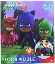 46pc PJ Masks 91x60cm Kids/children 3y Floor Large Jigsaw Puzzle Educational