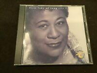 First Lady of Song  Fitzgerald, Ella  Audio CD