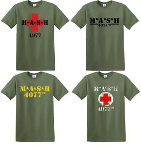M*A*S*H 4077TH T Shirt MASH TV Series US Army Military Father day Gift tshirt