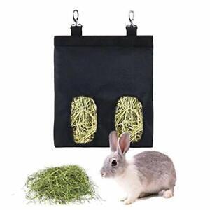 PAKCAE Rabbit Hay Feeder Hay Rack Feeder for Rabbits Guinea Pigs Chinchilla B...