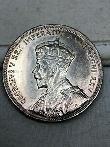 1935 Canada Silver 1 Dollar AU/UNC