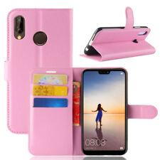 For Hauwei P20Lite/Y5 Y6 Y7 Prime Flip Leather Wallet Case Phone Bag Cover Pouch