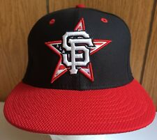 San Francisco Giants Hat Cap 59 Fifty PATRIOTIC Star & Stripes Unworn Sz 7 1/4