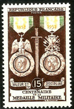 Francia / France. 1952. 15 Francs. Centenaire de la Medaille Militaire (New)