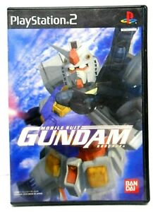 Kidou Senshi Mobile Suit Gundam Video Game Japan Only Playstation 2 PS2 Imported