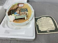 Beatrix Potter Bradford Exchange 3D Musical Plates Set Of 8 - Excellent Cond.