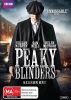 Peaky Blinders : Season 1 (DVD, 2-Disc Set) NEW