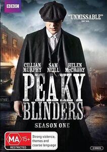 Peaky Blinders - Season 1 (DVD, 2 Disc Set) Region 4 - NEW+SEALED