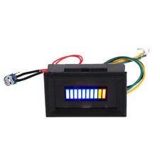 12V Unversal Motorcycle Car Oil scale meter LED Oil Fuel level Gauge Indicator
