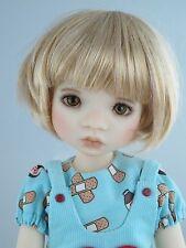 Monique BUBBLES Wig Lt Gld Blonde Size 7 1/4 YoSd BJD shown on Avery by MyMeadow