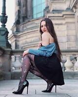 Onlymaker Women High Heel Evening Pumps Pointed Toe Stilettos Dress Sexy Slip On