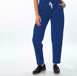 M139 Unisex Nurse Trousers,Hospital, Scrub Trouser, Comfort fit,Elastic.15 Colrs