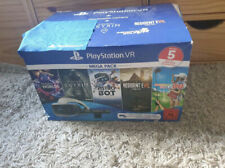 Sony Playstation VR Brille 2. Version Mega Pack Original mit 5 Spiele + Kamera