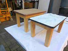Zwei alte Hocker Holz Fußbank Schemel Holz