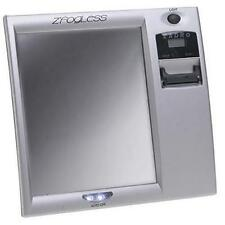 New Zadro Fog-Free Shower Mirror wi/ Digital Clock Z200 - Silver