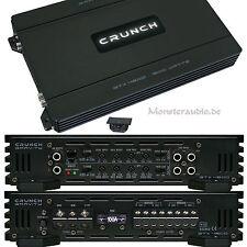 CRUNCH GTX-4800 4-Kanal Endstufe Verstärker 1600 Watt Auto PKW Amp