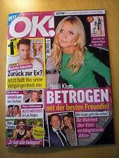 OK Heidi Klum Zayn Malik Micaela Schäfer Madonna Johnny Depp George Clooney JLo