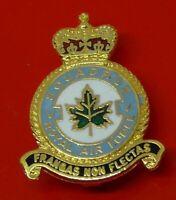 RAF Museum Royal Air Force Enamel Pin Badge No V 5 Squadron Frangas Non Flectas