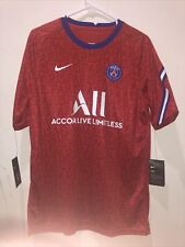 Nike 2020-2021 PSG Training Soccer Jersey Mens Large L New With Tags CD5816-658