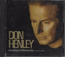 DON HENLEY Everything Is Different Now promo CD single with PicCover  EAGLES