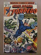 1972 Series # 39 VF 8.0 Marvel Comics Marvel Premiere Vol 1