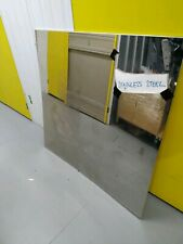 Large Stainless Steel Decorative Mirror