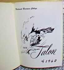 %SSALE ROANOKE VA NATIONAL BUSINESS COLLEGE 1960 THE TALON N.B.C YEARBOOK ANNUAL