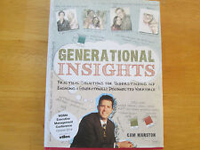 Generational Insights : by Cam Marston Very Rare Signed Hardcoved Edition