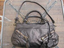 Moni Moni Dolce Vita Leather Satchel - Black - Excellent Condition - Free S+H