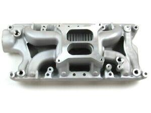 Ford SBF 260 289 302 Aluminum Air Gap Intake Manifold 1500-6500 Satin E42453