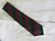 Brooks Brothers Red Blue Green Striped Tie 100% Silk Made in USA  EUC
