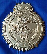 "FBI NA National Academy Federal Bureau of Investigation Wall / Podium Sign 9""X8"""