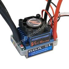 Hobbypower Racing 60A SL V2 Brushless Speed Controller ESC for RC 1/10 1/12 Car