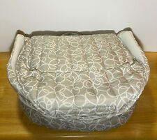 Baby Delight Snuggle Nest Travel / Portable Infant Sleeper Grey (Gently Used)