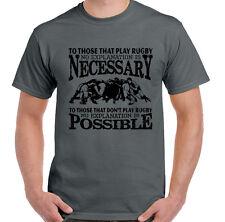à ceux qui Jeu RUGBY Hommes T-shirt drôle ENGLAND ECOSSE de Galles HAUT JERSEY