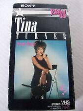 TINA TURNER, PRIVATE DANCER, SONY VIDEO 45,  1984 VHS
