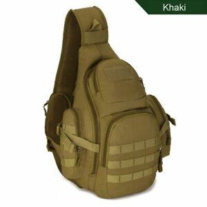 Military Sling Camping Bags Backpacks Bag Travel Belt Single Shoulder Bags