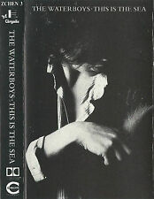 WATERBOYS THIS IS THE SEA CASSETTE ALBUM FOLK ROCK INDIE ROCK CHRYSALIS ZCHEN 3