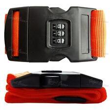 Ajustable correas de combinación de Equipaje Maleta Viaje Equipaje de bloqueo de cinturón de amarre