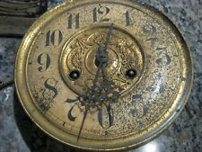 Vintage Junghans A13 Vienna clock Movement w/ mounting bracket, dial and hands,
