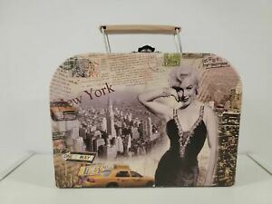 MARILYN MONROE Inspired New York Style Paperboard Storage/Lunch Box