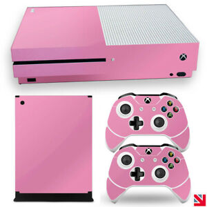 SOFT PINK GLOSS Colour XBOX ONE S Skin Decal Vinyl Sticker Wrap