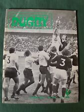 """Lot de 8 """"Revue officielle de la fédération française de Rugby"""" 1975, 1981, 1982"""