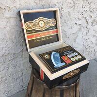 Perdomo 20th Anniversary Maduro Epicure Empty Wooden Cigar Box 8x7x3