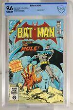 Batman #340 (1981) CBCS 9.6 KEY 1st Gene Colan Batman Art!!  Atari Insert CGC
